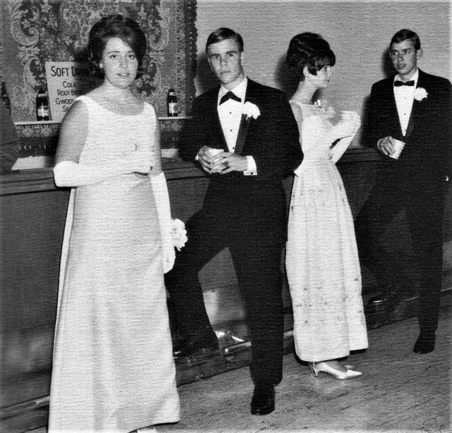 Louisville Catholic High School Prom held  at Riviera Country Club in Pacific Palisades, CA  1968  (2)