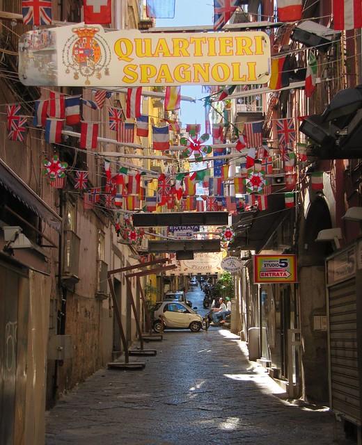 Naples / Quartieri Spagnoli - Spanish  district