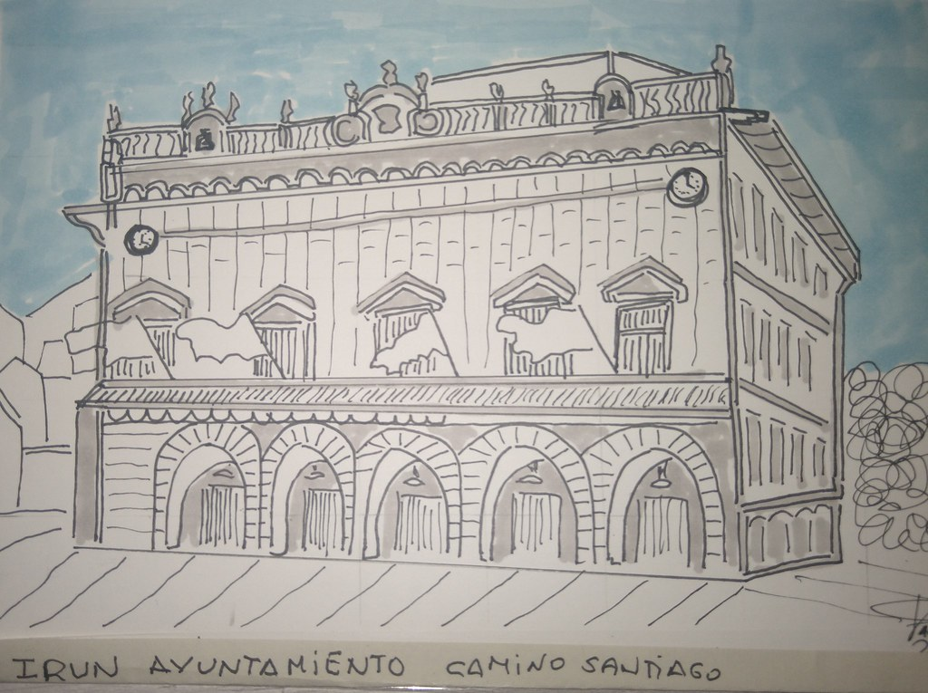 01 IRUN Ayuntamiento Camino Santiago