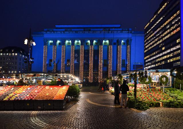 Mercadillo navideño, Estocolmo