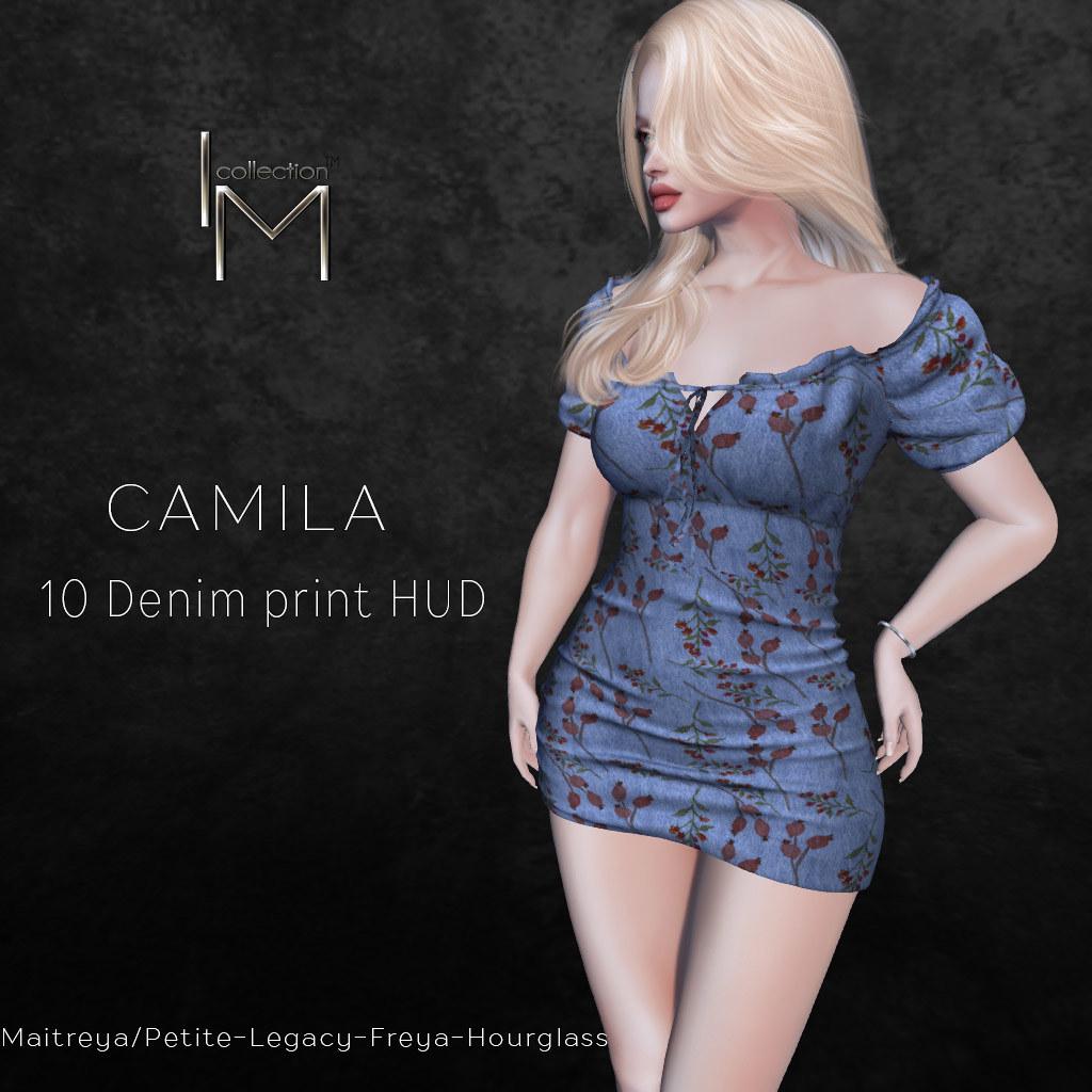 I.M.Collection Camila Denim Dress