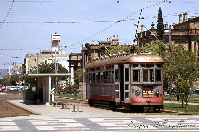 Glenelg Tram 358, Victoria Square