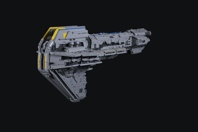 LEGO Starhawk-class Battleship Mk I