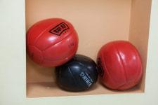 Территория Санатория Ружанский - мячи для работы с утяжелением