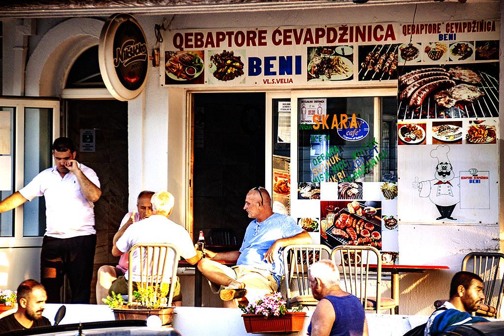 Kebab joint on 7-14-21--Ulcinj