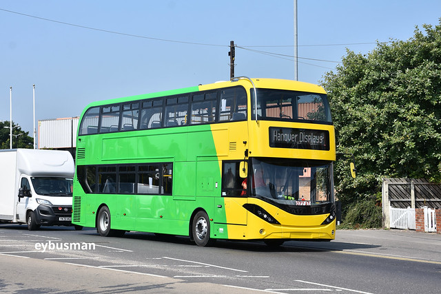 Dublin Bus brand new Enviro 400 MMC on test drive.