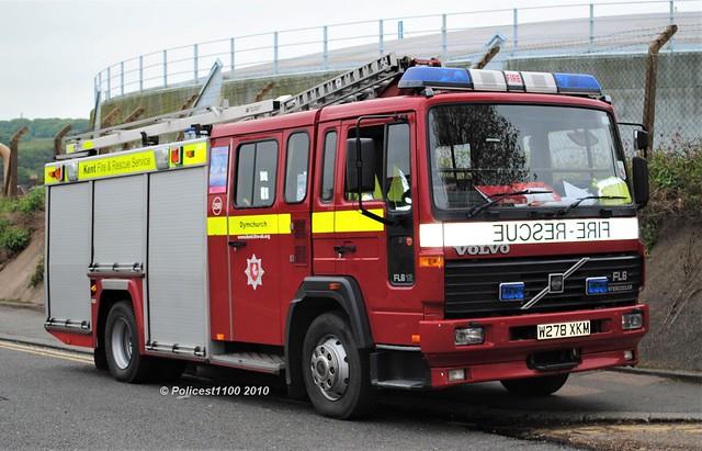 Kent Fire & Rescue Service Volvo FL6 W278 XKM