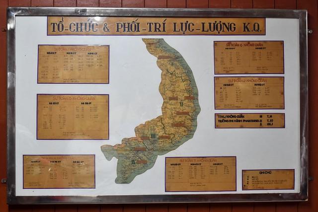 Aircraft deployment map
