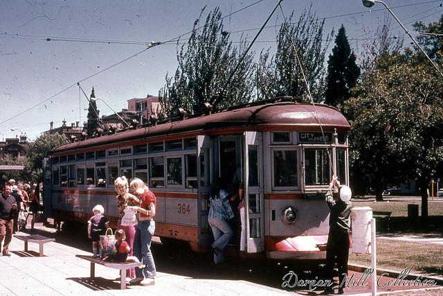Glenelg Tram 364, Victoria Square