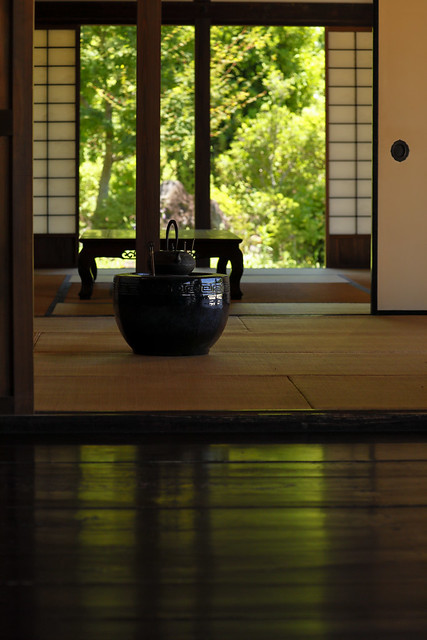 Inside a private house in the Edo period