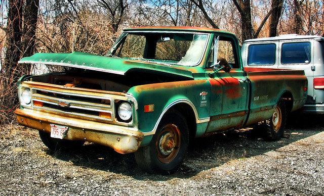 more rust than truck...