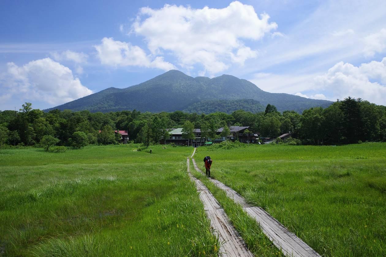 夏の尾瀬・燧ヶ岳