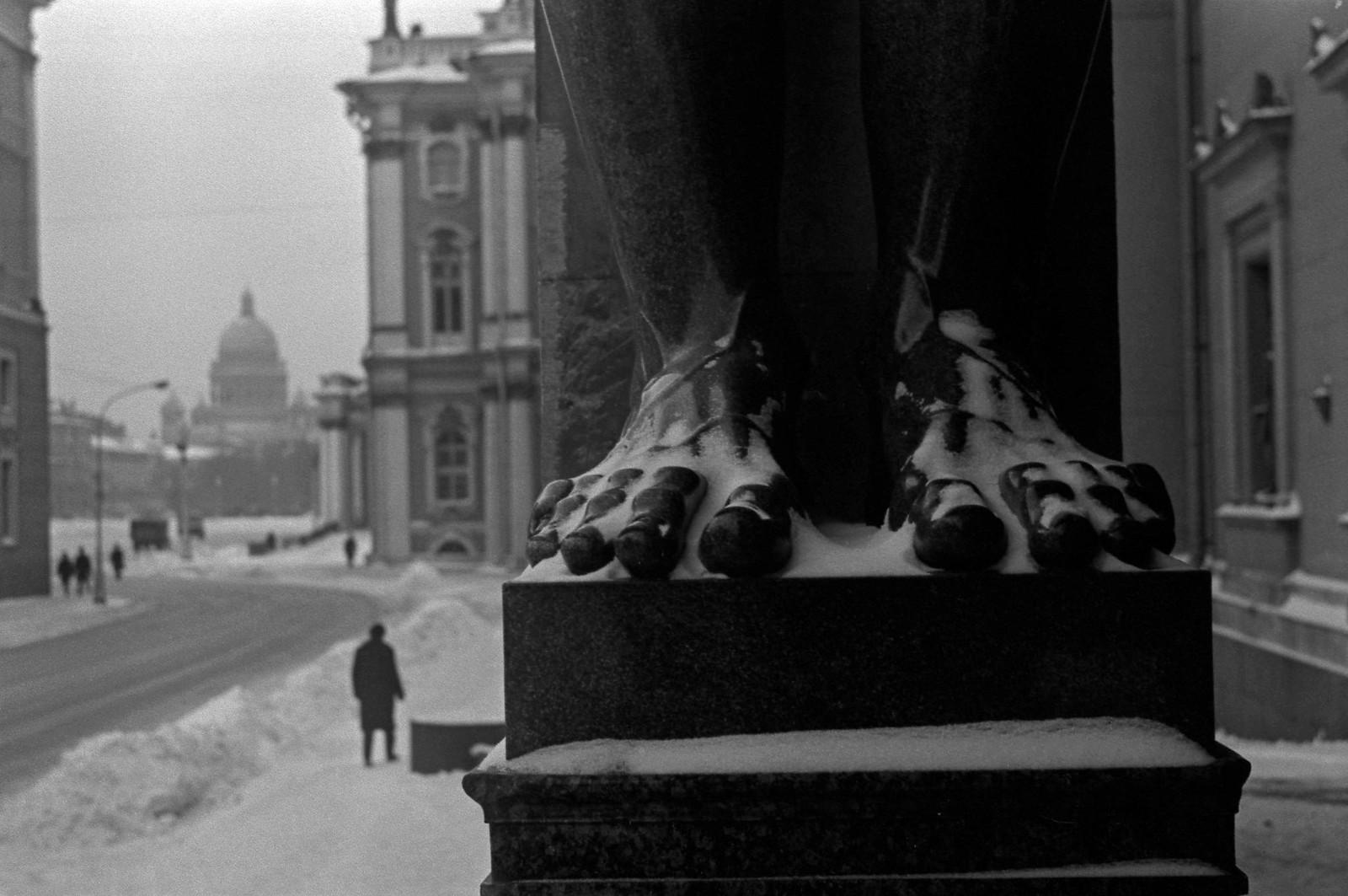 1975. Эрмитаж, Зима