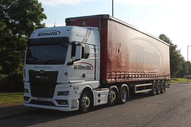 MAN TGX - Willmotts Transport