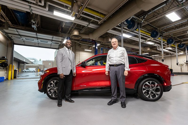 WCC's new Ford Mustang Mach-E