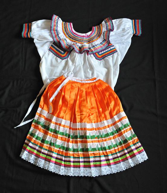 Mexico Chiapas Tojolabal Clothing Traje Saltillo