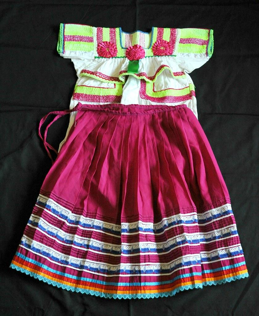 Tojolabal Maya Traje Clothing Textiles Mexico Chiapas