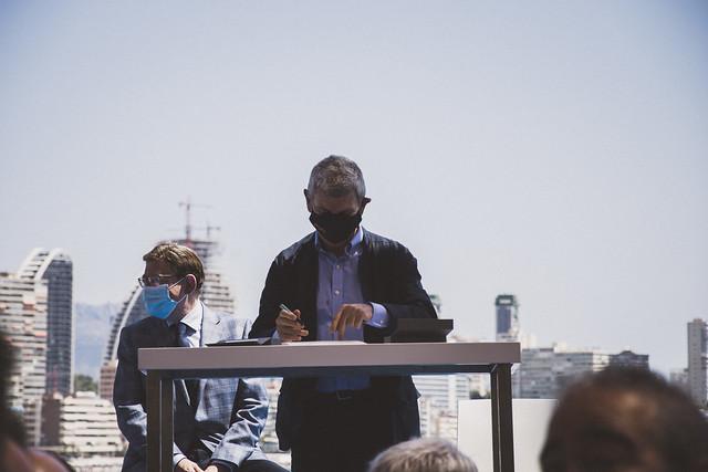 Presentación Representante de Eurovisión en Benidorm