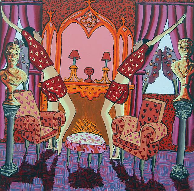 יוצרים ישראלים ציירים ישראליים אמנות קווירית  ישראלית אומנות הומוסקסואלית גאה רפי פרץ צייר  מגדר באמנות הישראלית