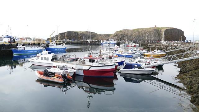 Port of Stykkisholmur Iceland