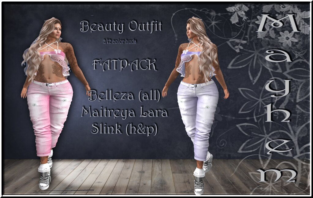 Mayhem Beauty Outfit Fatpack AD