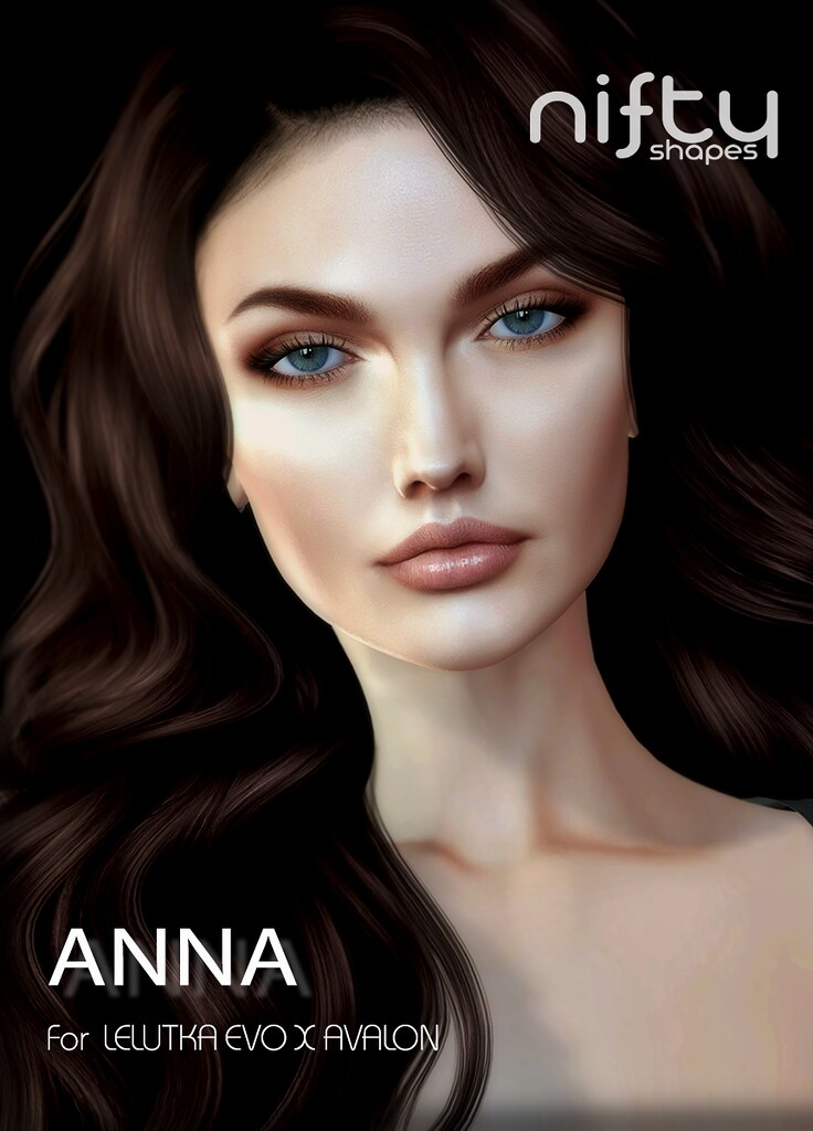 :NiFty: ANNA shape fo Lelutka Evo X Avalon