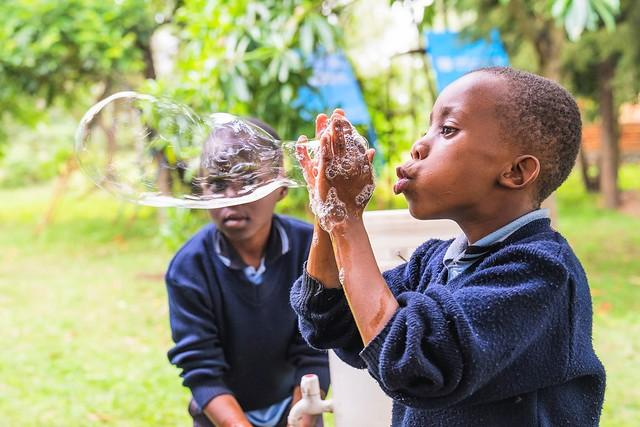 Who said handwashing couldn't be fun?!