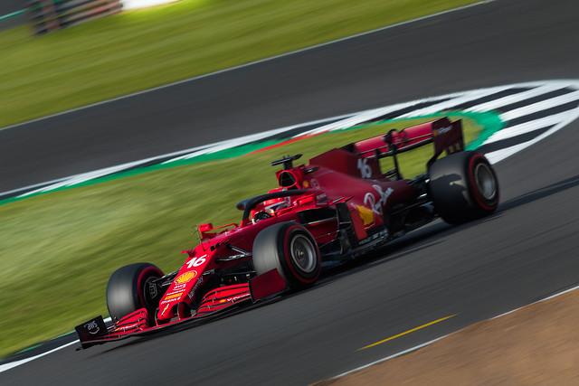 Charles Leclerc - Ferrari SF21 - Silverstone