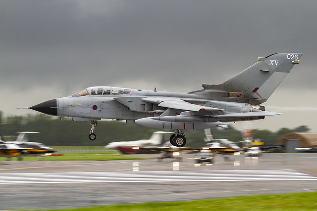 ZA461, MRCA Tornado GR4 Royal Air Force @ RAF Fairford EGVA