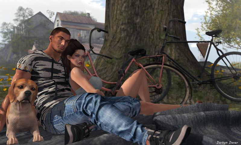 Bikes and Blanket