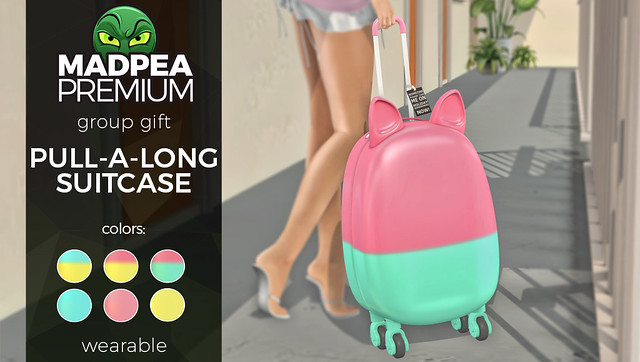 Premium Gift: Pull-a-long Suitcase