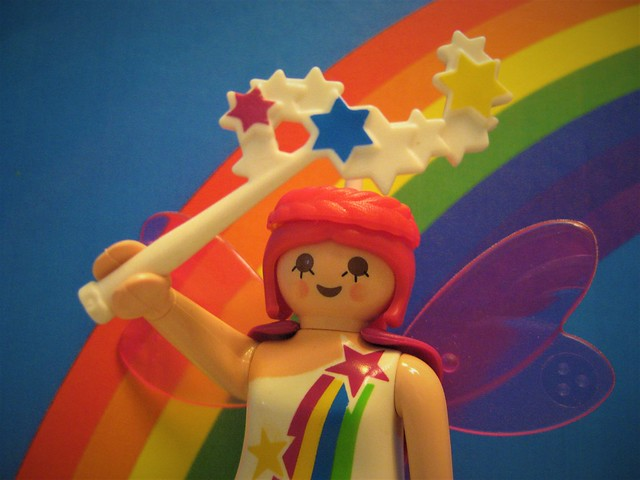 The Rainbow Faerie Brings Colour to World