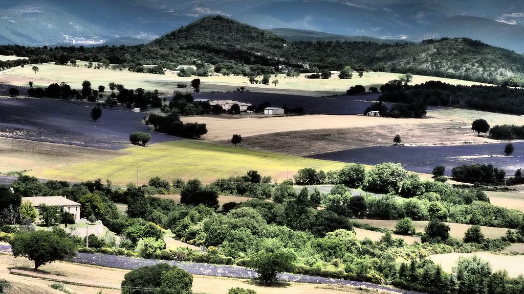 Provence landscape...