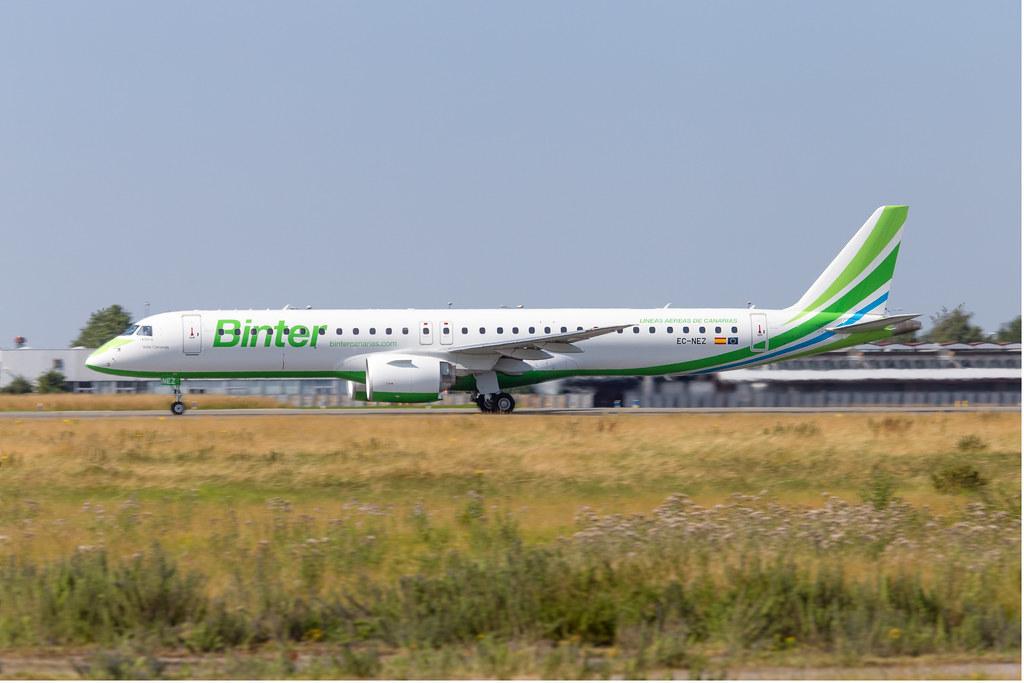 LIL - Embraer 195-E2 (EC-NEZ) Binter Canarias