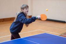 Территория Санатория Ружанский - пинг-понг в спортивном зале