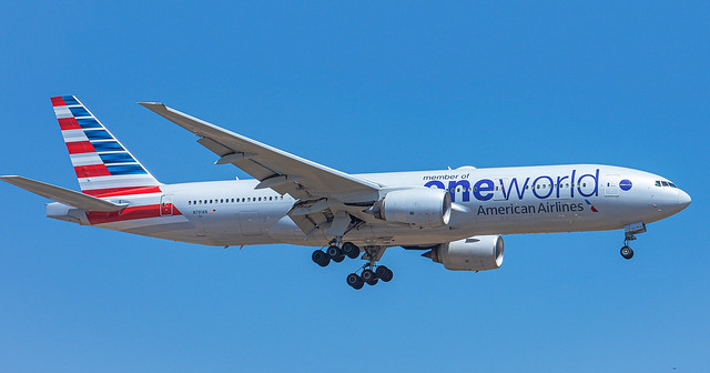 N791AN On final for runway 21 At TLV