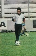 Temporada 1977/78: Nando Yosu, entrenador del Racing de Santander