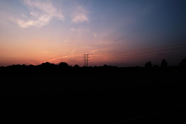 Oh sunset you still linger