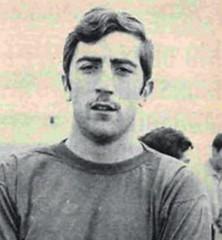 Temporada 1977/78: Arteche, jugador del Racing de Santander