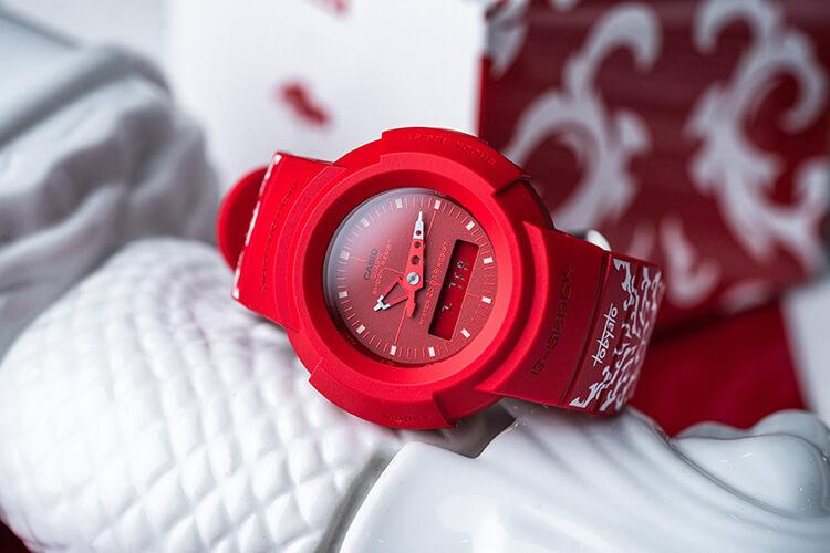 G-Shock Singapore National Day Watch design