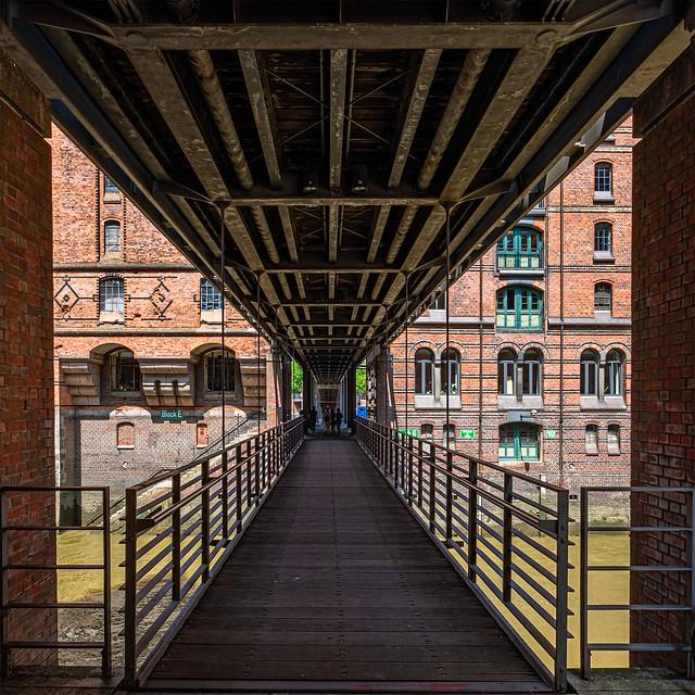 Hamburg Hafencity Kippelsteg