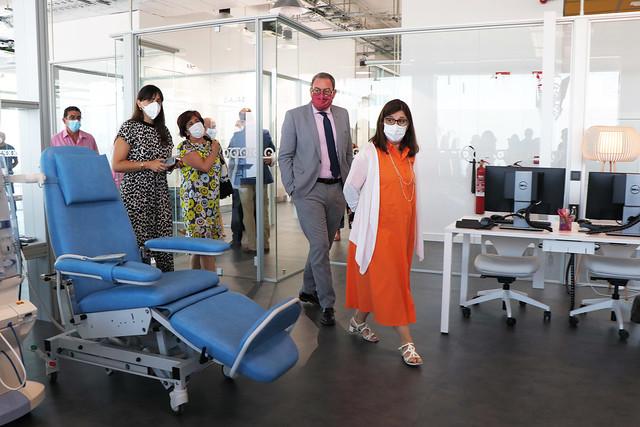 Visita a las instalaciones del nuevo Centro de Diálisis Extrahospitalaria en Guadalajara
