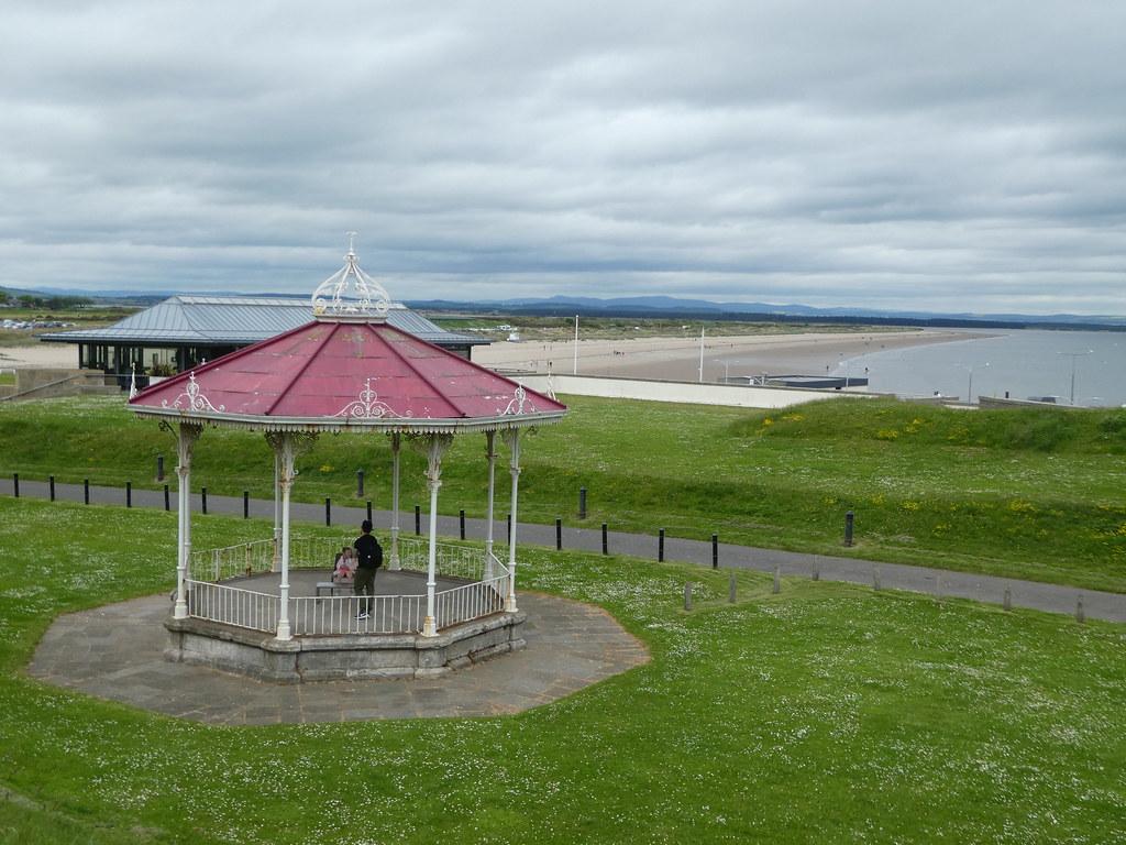 West Sands and St Andrews bandstand