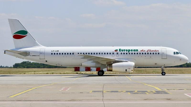 LZ-LAD Airbus A320 European Air Charter