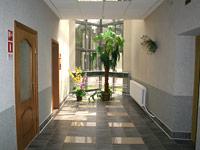 Корпуса Санатория Энергетик - коридор жилого корпуса