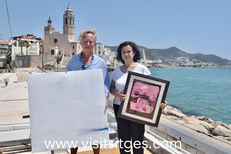 Exposición 'Pintamos lo que sentimos' en el Club Nàutic de Sitges