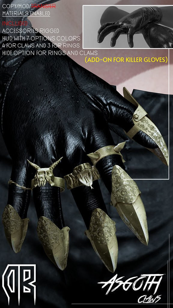 [The DeadBoy] Asgoth Claws