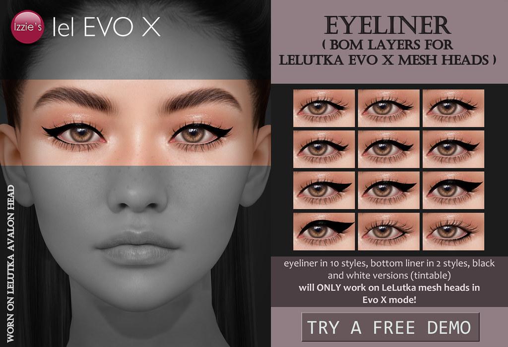Izzie's – Eyeliner (LeLutka Evo X) for FLF