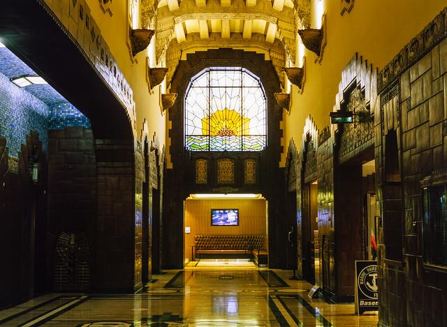 Marine Building Art Deco Lobby