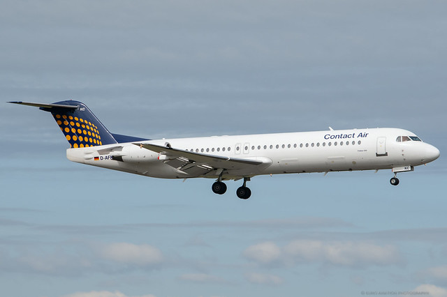 D-AFKC Contact Air - Fokker 100